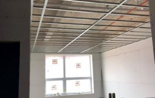 Apartments in Muncie - first floor unit - drywall